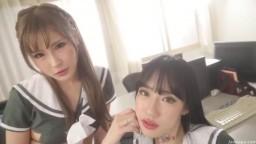 雙刺青辣妹「放學後來撸管!!」
